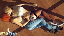 3DXChat online sex game with real lesbians