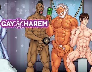 Watch Gay Harem gameplay trailer online