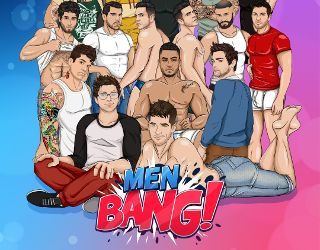 Lustful gay males of the Men Bang